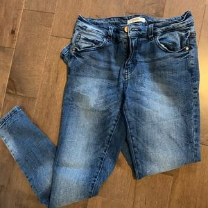 Lightly used boyfriend jeans